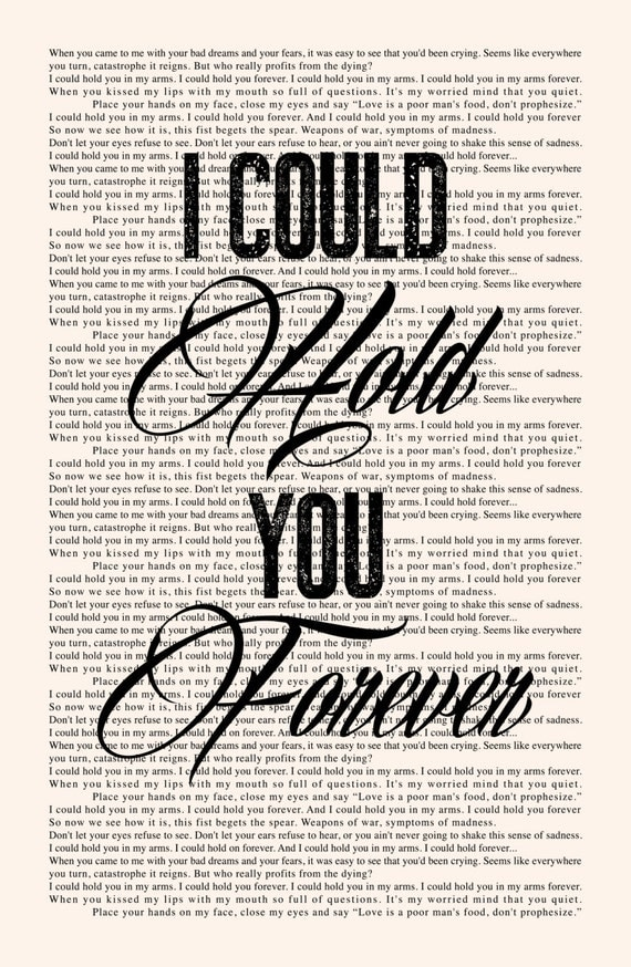 Hold You in My Arms Lyrics