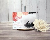 Peony Save the Date Card ...