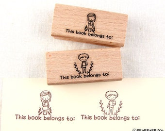 This book belongs to Rubber Stamp Set