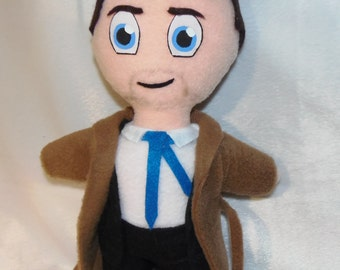 Castiel Plush Doll Inspired by the show Supernatural