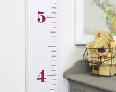 Fully Carved Growth Chart For Children