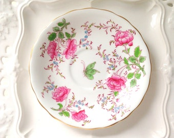 Vintage English Bone China Royal Chelsea Saucer Replacement China - c. 1943 - 1966