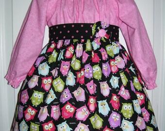Baby/Toddler/Girls Peasant Dress/Twirl Dress