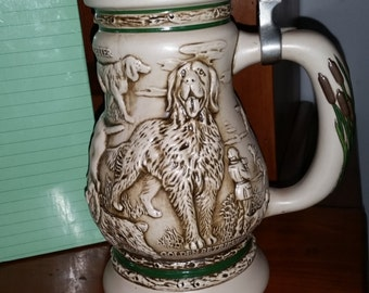 Avon Great Dogs of the Outdoors Collectible Stein