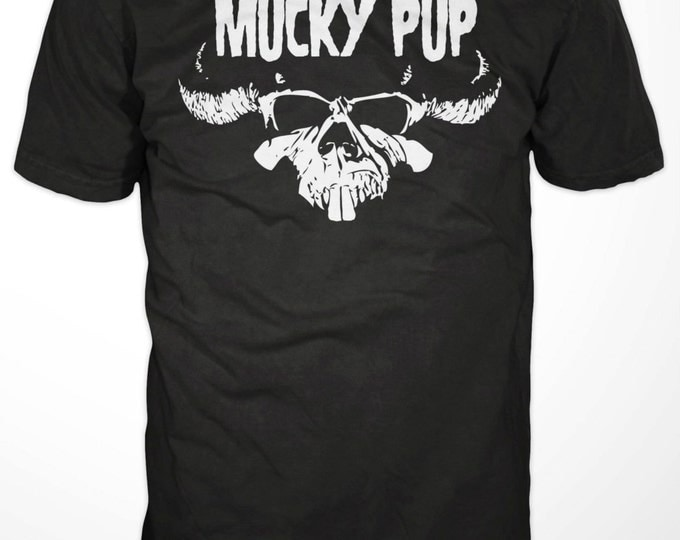 "Mucky Pup Tshirt - ""Danzig"" Logo"