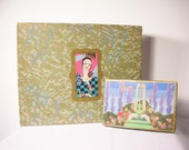 Period Vintage Art Deco Advertising Candy Perfume Department Store Boxes - Amazing Graphics and Color - Excellent Condition