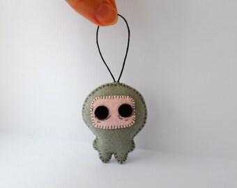 The Binding of Isaac, Wrath handmade felt plush ornament