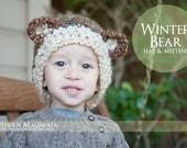 Winter Bear Hat and Gloves