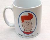 Customisable 'Hero' Father's Day Mug