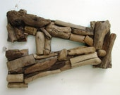 Custom Driftwood Letters--Coastal Home Decor, Rustic Letters