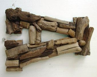 Custom Driftwood Letters--Coastal Home Decor, Rustic Letters