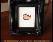 Kawaii Cat (1) Cross Stitch (Printable PDF Pattern) - Immediate Download from Etsy - Cute Cat / Kitten / Kitty Pudge