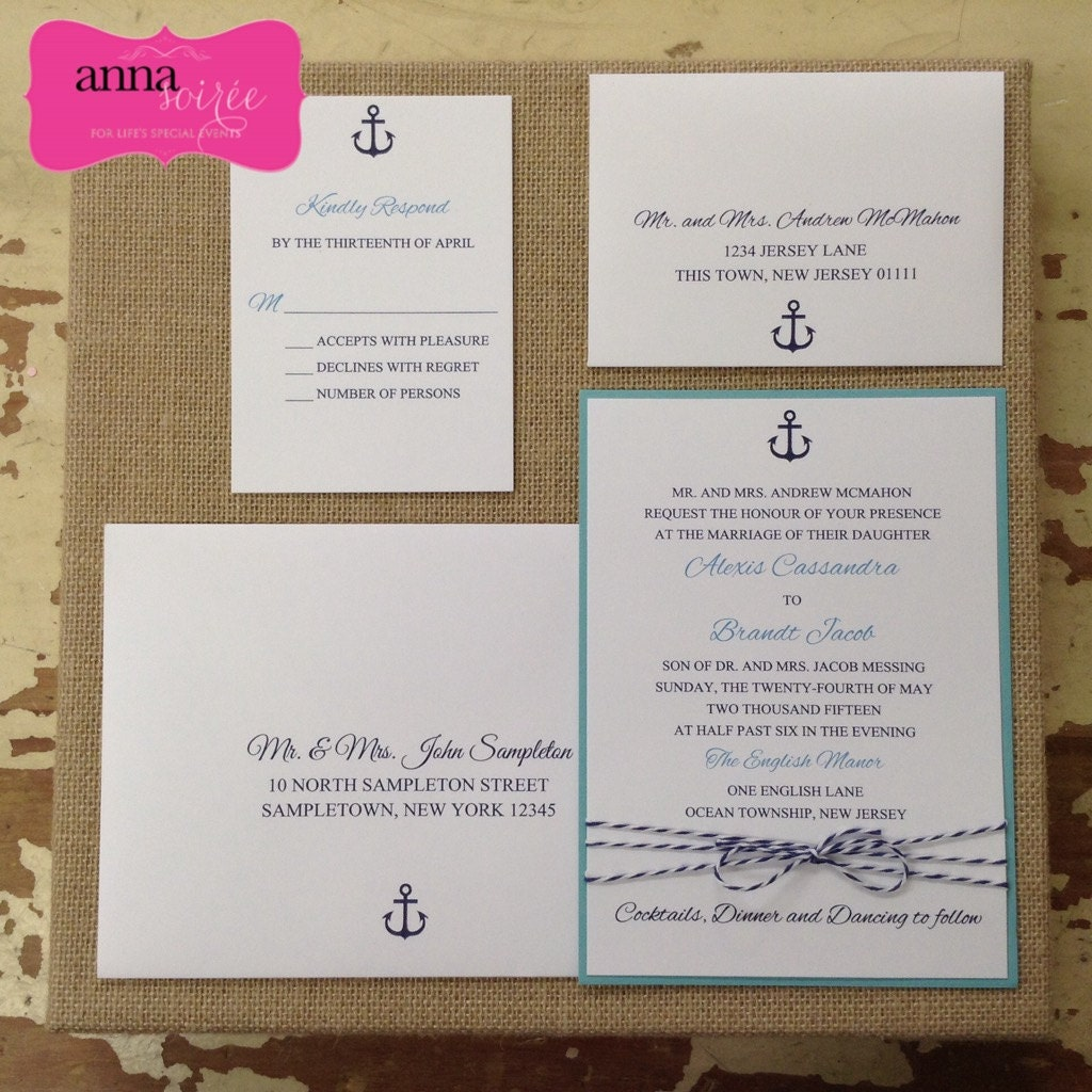 wedding invitation bakers twine - 28 images - dot dash designs ...