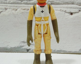 Vintage Bossk the Bounty Hunter Action Figure Toy. Made by Kenner. Bounty Hunter. Gentleman. Socialite. Make Cool Stop Action Movies.
