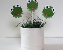 Kermit the Frog Cupcake Toppers (12)