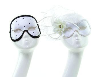 MATRIMONIO - Luxury His and Hers Masquerade Mask Set