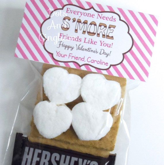 Free Christmas Smores Printable Topper   just b.CAUSE