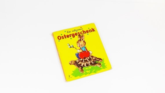 Vintage German Easter Childrens Board Book