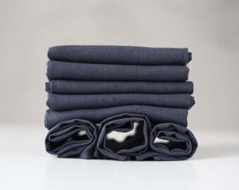 Gray linen napkins set of 8, cloth napkins bulk,unpaper napkins, lithuanian linen napkins, cloth napkins, daily napkins for family table