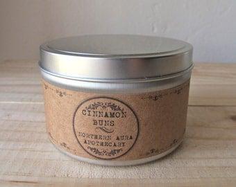 Cinnamon Buns // 8 oz. Natural USA Grown Soy Candle