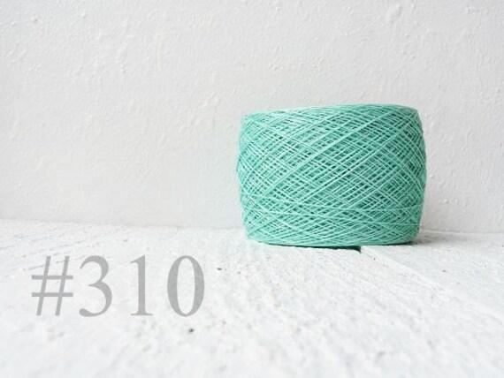 Mint linen thread # 310