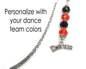Dance Bookmark, Inexpensive Gift For Dance Coach, Dance Mom