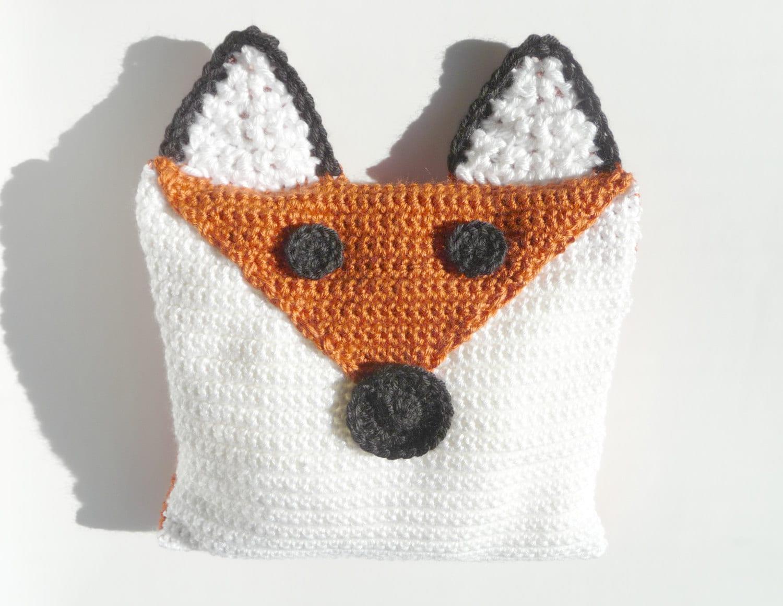 Animal Pillow Patterns Free : Decorative Throw Pillows CROCHET PATTERN Animal Pillow Animal