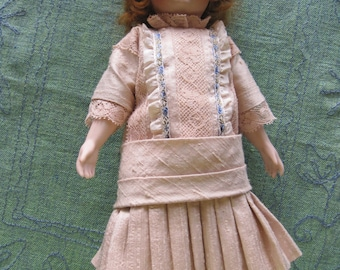 Antique Reproduction Porcelain Doll Millette