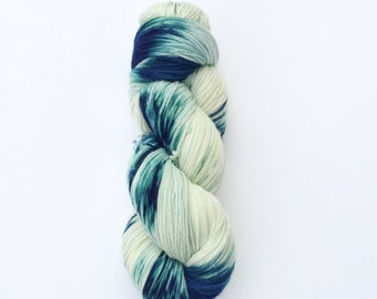 Hand Dyed Sock Yarn, Knitting Yarn, Merino Wool Nylon 75/25 blend, 100g/462 yards Preorder