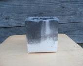 Cubic Concrete Planter (Storm Series)