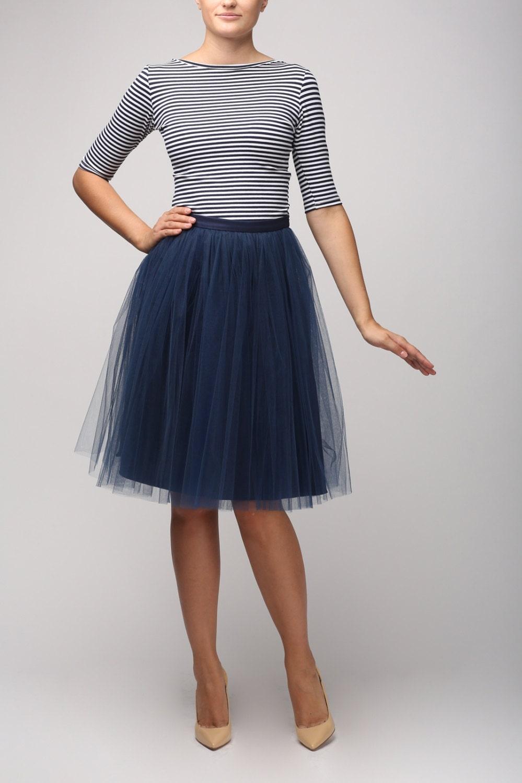 blue tulle skirt light tulle skirt handmade tutu skirt