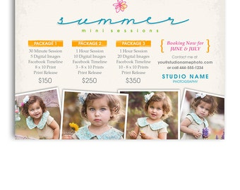 Photography Marketing Board - Summer Mini Session Template - 1083