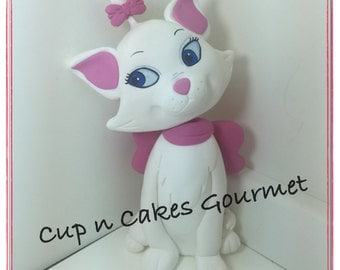 Marie (Aristocats) Cake Topper