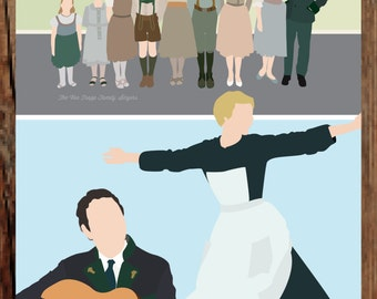 The Sound of Music 50th Anniversary Print - 11x17