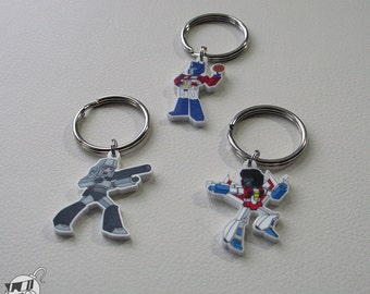 Transformers Character Keychains and Phone Charms