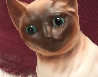 Vintage Siamese Cat Planter by NAPCOWARE C-7116 Japan Collectible