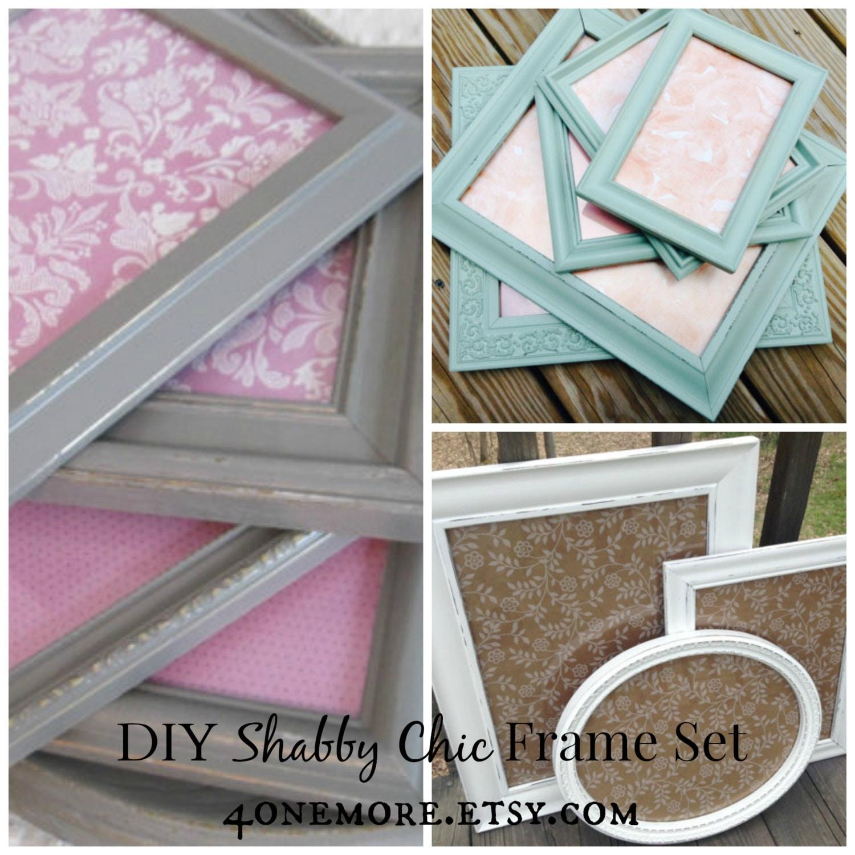 Diy frame set craft kit diy frames diy home decor diy for Do it yourself nursery decor