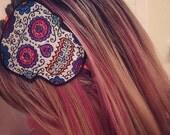 Handcrafted Sugar Skull Headband - Dia De Muertos - Day of the Dead - Decorated Skull Headpiece - Halloween - Adult Headband - Mexico