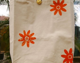 Sturdy Fully Lined Canvas Tote Bag