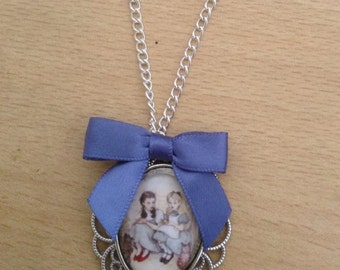 Alice & Dorothy Necklace - Handmade Unique (FREE or LOW COST shipping)