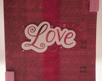Love - Valentine's Day Card