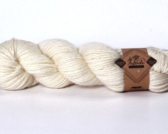 Merino Worsted Yarn Natural Dyes - 100g