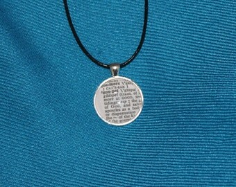 Definition of Gospel Pendant Necklace