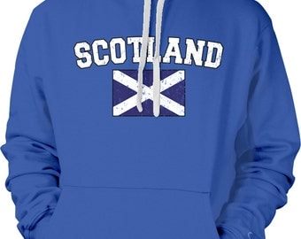 Scotland Country Flag Sweatshirt, Scottish Pride, Scotland Flag, Scottish Flag International Country Hoodies_ SCO-02_2tonehood