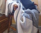 Triple Block Afghan - Crochet Pattern by Alyssa Weeks