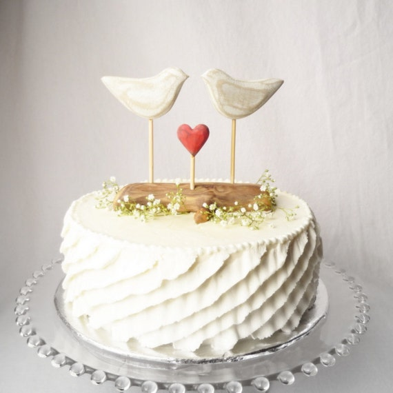 Rustic Wedding Cake Topper Beach Cake Topper Beach Wedding Decor