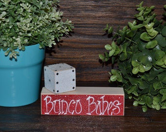 Personalized Bunco Gift Name Girls Night Out Bunco Host Gift Bunco Party Ladies Night Bunco Babes Gather Here