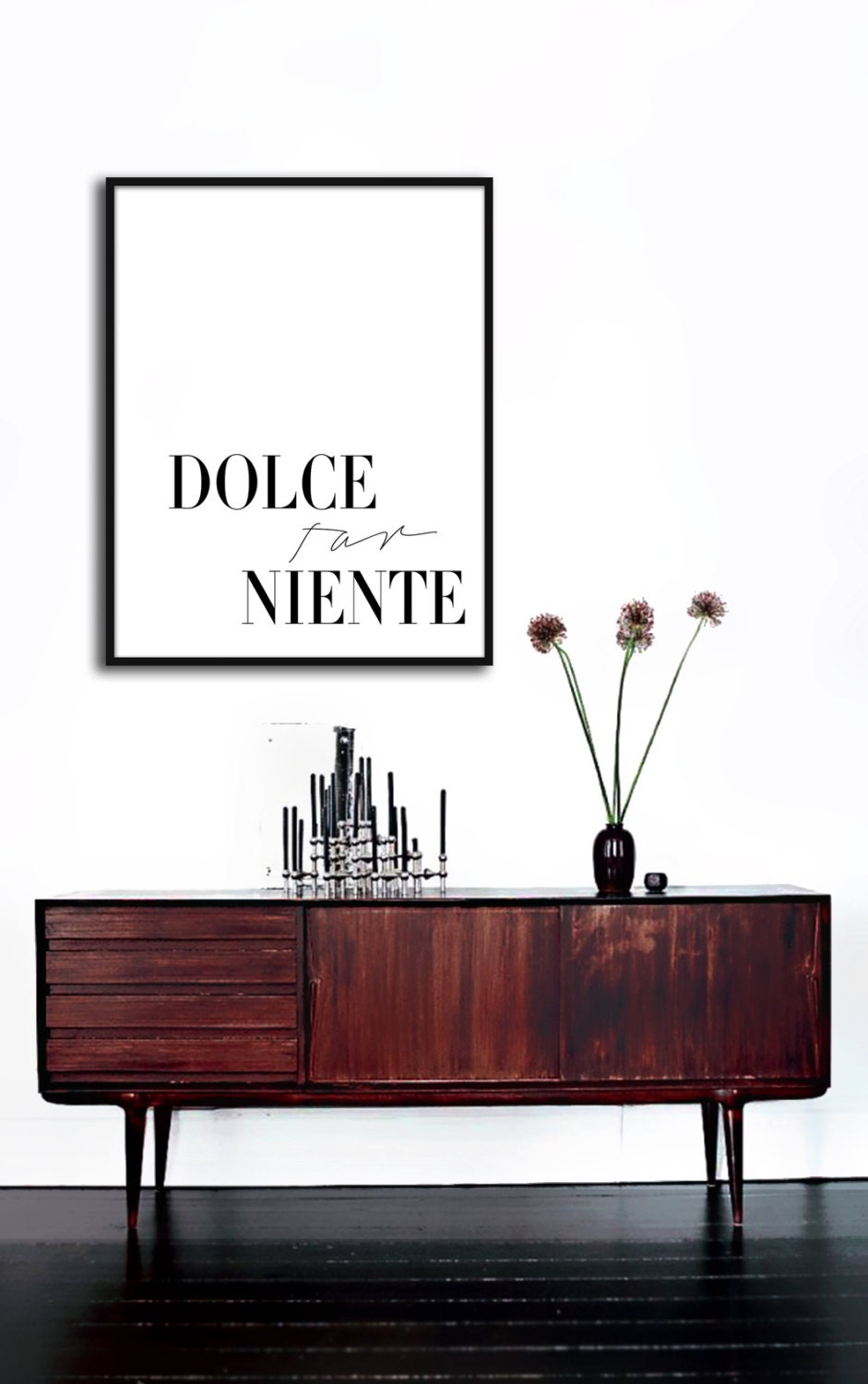 dolce far niente poster printable file the sweetness of. Black Bedroom Furniture Sets. Home Design Ideas