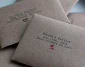 Personalized Bath Salt Wedding / Party Favors - Set of 20