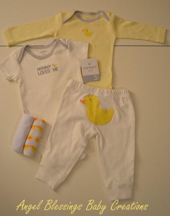 gender neutral baby cupcake gift set unique baby shower present 3